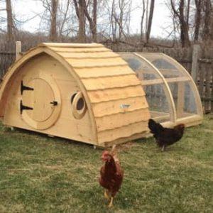 Hobbit chicken house