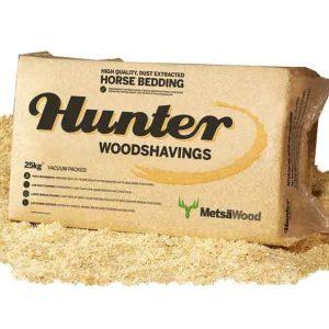 Hunter wood shavings